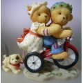 SALLY & SKIP INTERNATIONAL LIMITED EDITION 510955-F MIB  CHERISHED TEDDIE