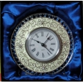 TABLE CLOCK CREAM ELEGANCE  75114  MINT IN BOX