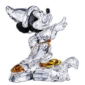 SWAROVSKI SILVER CRYSTAL SORCERER MICKEY 2009 LIMITED EDITION  955438 MINT IN BOX & REDUCED