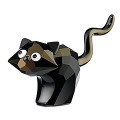"""SWAROVSKI SILVER CRYSTAL   """"THEO THE 2009 LIMITED EDITION CAT LOVLOTS-THEME GROUP"""" 995010 MINT IN BOX"""