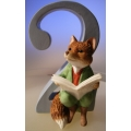 "AGE 2 BEATRIX POTTER ""FOXY WHISKERD GENTLEMAN ""2""  FIGURINE"" MIB A6215"