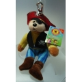 JACK THE PIRATE BEAR BAG-TAG LTD. EDITION SERIES 1  MINT WITH MINT TAG