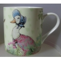 JEMIMA PUDDLEDUCK, BEATRIX POTTER  WOODLAND MUG G/BOX IPET34461 MINT IN GIFT BOX