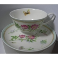 MAXWELL & WILLIAMS  CUP AND SAUCER BUTTERFLY GARDEN  MINT  S303103 MIB