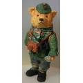 COLOUR-BOX  CELEBRITY BEAR  DENNIS FROM DR BRIAN BEACOCK  TCC001  MINT IN BOX FREE POSTAGE WITHIN AUSTRALIA