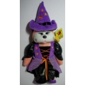 """SKANSEN BEANIE KIDS """"WANDA THE WITCH BEAR"""" MINT WITH MINT TAG  OCTOBER  2010   RELEASE"""