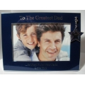 GREATEST DAD  PICTURE FRAME  WP2720