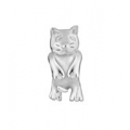 "PASTICHE FOR THE YOUNG ""PETITE  SITTING CAT LINK "" XT131 IN SILVER MINT"