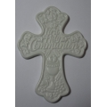 ENESCO FIRST HOLY COMMUNION WALL CROSS 146335   IN WHITE GIFT BOX