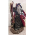 """WINDSTONE EDITIONS """"LARGE WIZARD WITH BABY DRAGON"""" 601K  MIB"""