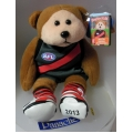 """SKANSEN BEANIE KID  """"2013 CLASH JUMPER ESSENDON BOMBERS AFL BEAR""""  MINT WITH MINT TAG  COMMON     MARCH  2013   RELEASE"""