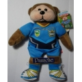 "SKANSEN NRL BEANIE  ""DAVE THE GOLD COAST TITANS BEAR""  MINT WITH MINT TAG    FEBRUARY- 2013   RELEASE"