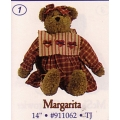 """BOYDS PLUSH COLLECTION  """"MARGARITA""""TJ  ( BEARS BEST DRESSED COLLECTION) 911062"""