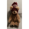 "BOYDS PLUSH COLLECTION  ""FITZGERALD O'BRUIN BEAR""  91802 TJ   HEIGHT: 15cm    NEW FREE POSTAGE WITHIN AUSTRALIA"