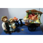 COLOUR-BOX COLLECTION- BY PETER FAGAN THE FLOWER CART LTD ED 434/1500 MINT & BOX TC003