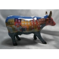 """COWS PARADE  A MOO YORK NEIGHBOURHOOD BY ALLISON BEISPEL""""   S47432  GIFT BOXED  MIB"""