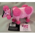 """COWS PARADE  """"COW! ON PARADE- FRENCH MOODLE BY DONNA LANE VADALA""""  S47868  GIFT BOXED  MIB"""