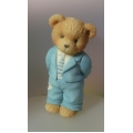 "CHERISHED TEDDIE   ""OUR CHERISHED FAMILY ""FATHER"" FIGURINE 624888 MINT IN BOX"