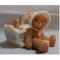 "CHERISHED TEDDIE  "" AWAITING  THE ARRIVAL ""  743801 MIB  FREE POSTAGE WITHIN AUSTRALIA"