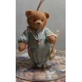 """CHERISHED TEDDIES """"BABY BOY'S 1ST CHRISTMAS""""  H/O DATED 1993 913014 MINT IN BOX FREE POSTAGE WITHIN AUSTRALIA"""