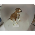 COUNTRY ARTISTS STAFFORDSHIRE BULL TERRIER BRINDLE CA06294  MINT IN BOX