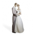 "LLADRO BY LLADRO""TOGETHER FOREVER"" 8107  Mint in box"
