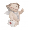 "NAO BY LLADRO CHEEKY CHERUB GREETINGS  ""GET WELL SOON"" 5069  MINT IN BOX   Issue Year: 2007  FREE POSTAGE WITHIN AUSTRALIA"