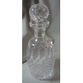 "WATERFORD CRYSTAL-MADE IN IRELAND   ""SPIRIT DECANTER"" MADE IN IRELAND COLLEEN SHORT STEM CUT  7124503  MINT BOXED"