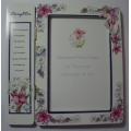 "SENTIMENT PHOTO FRAME BY REGENCY  ""DAUGHTER  PHOTO FRAME  "" 31215 NO BOX"