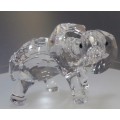 "SWAROVSKI SILVER CRYSTAL   ""LITTLE ELEPHANT""  674587  MINT IN BOX    RETIRED DECEMBER 2007"