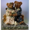 "BOYDS COLLECTION ""GRENVILLE & BEATRICE...BEST FRIENDS"" FIGURINE 2016 MIB"