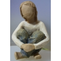 "WILLOW -TREE DEMDACO ""SPIRITED CHILD FIGURINE""  26224 MIB"