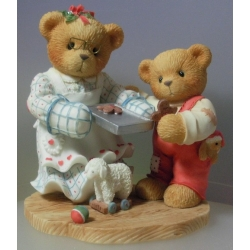 "PAMELA AND GRAYSON   CHERISHED TEDDIES ""PAMELA & GRAYSON SUGAR & SPICE"" 352616 MIB"