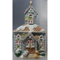 "CHERISHED TEDDIES ""OUR CHERISHED NEIGHBEARHOOD WINTER CHURCH"" 352659 MIB"