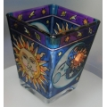 AMIA - HAND PAINTED GLASS PETITE VOTIVE HAND PAINTED PVO6079