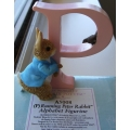 BEATRIX POTTER RUNNING PETER RABBIT P FIGURINE A5008