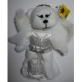 "AMELIE SKANSEN BEANIE KID ""AMELIE THE ANGEL BEAR""   MINT WITH MINT TAG"