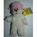 "SKANSEN BEANIE KID ""BAARNABY THE LAMB  ( WHITE ) BEAR  MINT WITH MINT TAG"