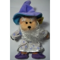 "SKANSEN BEANIE KID ""ELDERON"" THE WIZARD BEAR  MWMT PREMIER EXCLUSIVE"