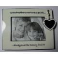 "WHITEHILL  STUDIO  ""GRANDMOTHERS PICTURE FRAME"" WP2718  MINT IN BOX"