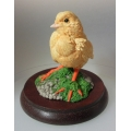 "CHILTERN FROM BORDER FINE ARTS RUSSELL WILLIS COLLECTION    ""BABY CHICKEN"" NEW IN BOX WB66         MADE IN GREAT BRITAIN  BY CHILTERN"