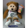 "SKANSEN BEANIE KID  ""2013 CLASH JUMPER GWS GIANTS AFL  BEAR""  MINT WITH MINT TAG  COMMON    MARCH  2013   RELEASE"