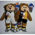 "SKANSEN BEANIE KID  ""WEST COAST EAGLES 2 JUMPERS AFL  BEAR""  MINT WITH MINT TAG    MARCH  2012   RELEASE"