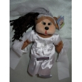 """SKANSEN BEANIE KID  """"SARAH THE BRIDE  BEAR""""  MINT WITH MINT TAG    JULY- 2012   RELEASE"""
