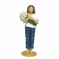 "FOREVER IN BLUE JEANS by WESTLAND GIFTWARE  ""THINKING OF YOU"" BJ18414"
