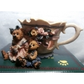 """BOYDS COLLECTION - """"MISS BRUIN & BAILEY """"  TEA TIME NEW & MINT IN BOX 27751 FREE POSTAGE WITHIN AUSTRALIA *"""