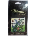 "BENAYA ART CERAMICS  ""DRAGONFLY SQUARE MAGNET"" SQDRA  MINT IN SLEEVE / FREE POSTAGE WITHIN AUSTRALIA"
