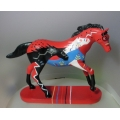 "TRAIL OF PAINTED PONIES-HAPPY TRAILS  ""BRAVE HEART BY ELIZABETH S HILL""  4026349  GIFT BOXED"
