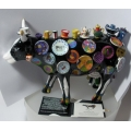 "COWS PARADE  ""COW! ON PARADE-COW MOO POTTER BY MEREDITH Mc CORD""  S46368  GIFT BOXED  MIB"