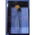 "CRYSTAL IMPRESSIONS MADE IN ISRAEL  ""CELEBRATIONS : YELLOW ROSE "" LIMITED EDITION 1000/194   CODE  7800012"